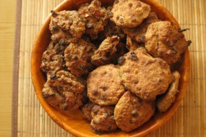 Овсяное печенье без масла - фото шаг 7
