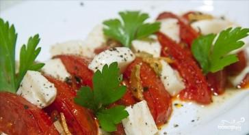 Салат из жареных помидоров - фото шаг 7
