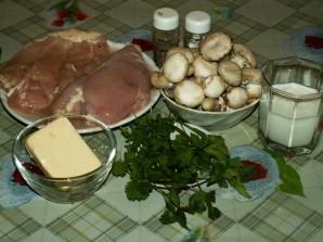 Курица в сметане с грибами - фото шаг 3