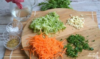 """Салат """"Фунчоза с овощами"""" - фото шаг 3"""