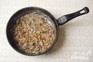 Печень с рисом и грибами - фото шаг 2