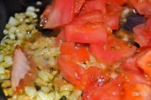 Гречневая каша с томатным соусом - фото шаг 4