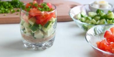 Два праздничных салата за 10 минут - фото шаг 2