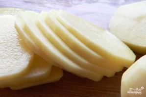 Шампиньоны с картошкой в горшочках - фото шаг 1