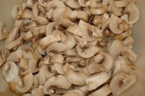 Фрикасе с грибами - фото шаг 2