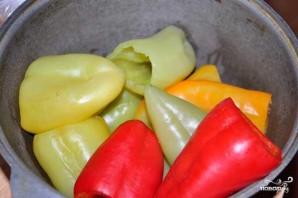 Перец, фаршированный рисом и овощами - фото шаг 5