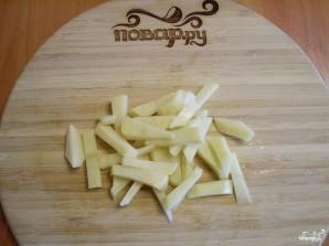 Вегетарианский гороховый суп в мультиварке - фото шаг 4