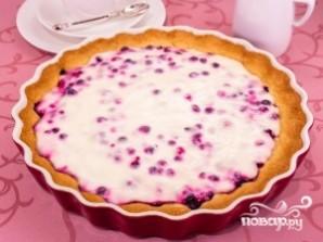 Вкусный пирог с брусникой - фото шаг 9
