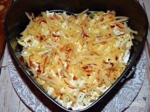 Салат с киви и ветчиной - фото шаг 6