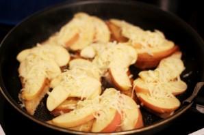 Гренки с яблоками - фото шаг 7