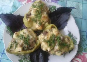 Перец, фаршированный грибами и сыром - фото шаг 3