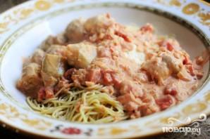 Спагетти с овощами - фото шаг 11