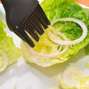 Салат-сендвич - фото шаг 4