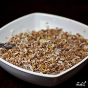 Пирожки с мясом и рисом - фото шаг 4