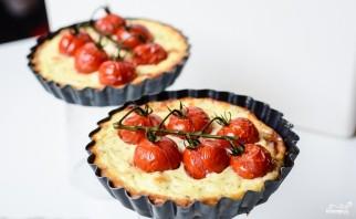 Тарталетки с сыром и помидорами - фото шаг 9