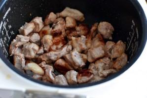 Острая свинина с овощами в мультиварке - фото шаг 2