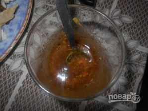 Cалат из куриного филе с шампиньонами - фото шаг 6