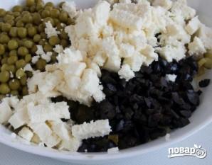 """Вегетарианский салат """"Оливье"""" - фото шаг 4"""