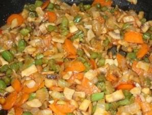 Овощной суп с грибами   - фото шаг 5