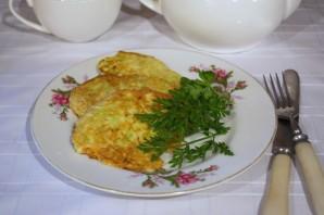 Оладушки из кабачка - фото шаг 7