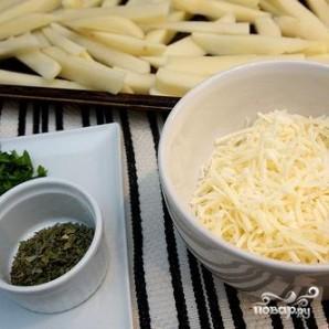 Итальянский картофель-фри - фото шаг 2