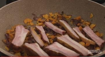 Очень вкусный гороховый суп с копчеными ребрышками - фото шаг 5