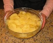 Запечённый картофель с грибами. - фото шаг 1