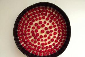 Творожно-малиновый торт - фото шаг 8
