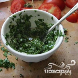 """Тарт """"Три сыра"""" с помидорами - фото шаг 2"""