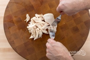 Салат с мясом курицы - фото шаг 3