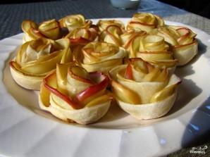 Розочки из яблок - фото шаг 6