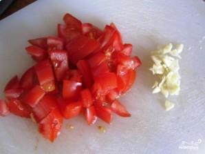 Цуккини, фаршированный томатом и стручковой фасолью - фото шаг 2