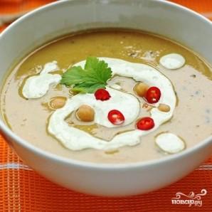 Пряный суп-пюре из нута - фото шаг 9