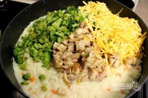 Курица с брокколи под хлебной крошкой - фото шаг 7