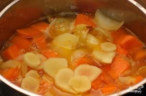 Тыквенный суп-пюре простой - фото шаг 2
