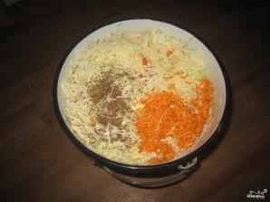 Квашеная капуста без соли - фото шаг 3