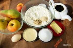 Булочки с яблоками, грушей и пряностями - фото шаг 1