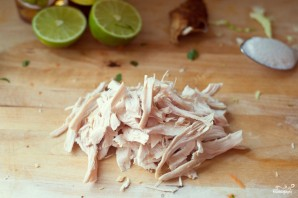 Овощной салат с курицей - фото шаг 3
