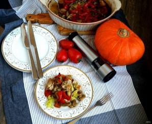 Рагу из маринованного кролика с овощами и грибами - фото шаг 9