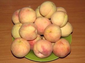 Варенье из персиков без варки - фото шаг 1