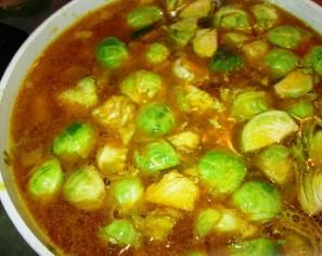Суп с брюссельской капустой - фото шаг 5
