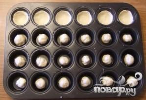 Двухслойное печенье с орехами - фото шаг 3