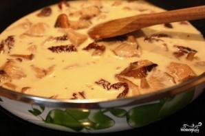 Паста с грибами шиитаке - фото шаг 3