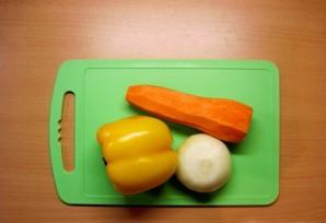 Суп картофельный с курицей - фото шаг 4