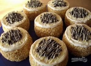 Бисквитное пирожное с масляным кремом - фото шаг 5