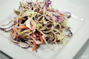 Овощной салат с тыквенными семечками - фото шаг 5