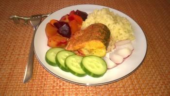 Щука в соусе карри с овощами - фото шаг 8