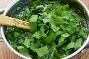 Суп из шпината и бараньего гороха - фото шаг 5