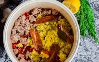 Солянка с колбасой и маслинами - фото шаг 7