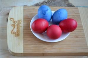 Красивые пасхальные яйца - фото шаг 4